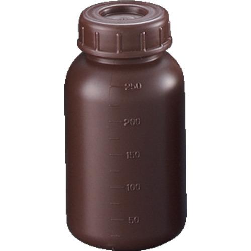 サンプラテック PE広口遮光瓶 250ml 2911
