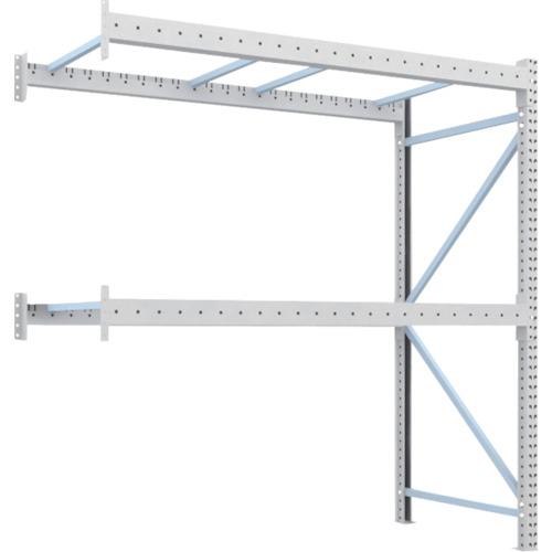 【直送】【代引不可】TRUSCO(トラスコ) 重量パレット棚 2トン用 2300X1100XH2500 連結 2D-25B23-11-2B