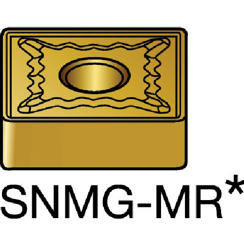SANDVIK(サンドビック) T-Max P 旋削用ネガ・チップ 4235 COAT 10個 SNMG120408-MR