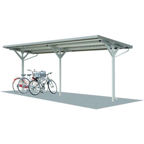 【直送】【代引不可】タクボ(田窪工業所) 自転車置場 基準型 間口2500 SP102J-K