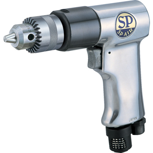 SP(エス.ピーエアー) サイレンサー付エアードリル 10mm SP-1522