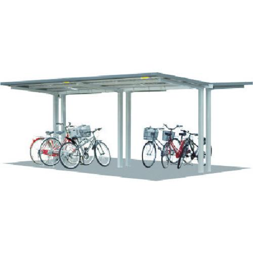【直送】【代引不可】タクボ(田窪工業所) 自転車置場 基準型 間口2500 SP202C-K