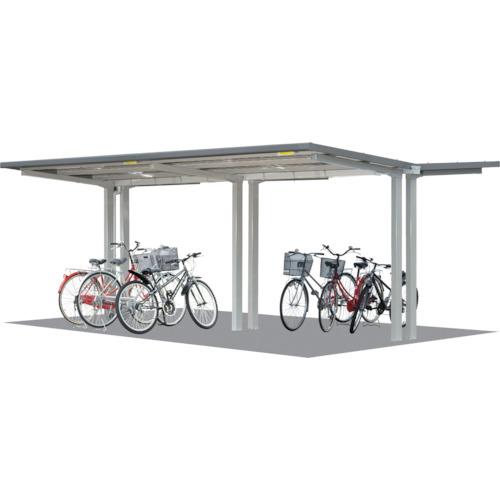 【直送】【代引不可】タクボ(田窪工業所) 自転車置場 連結型 間口2500 SP202C-L