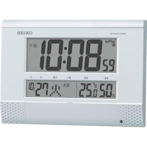SEIKO(セイコー) プログラムチャイム付き電波時計 SQ435W