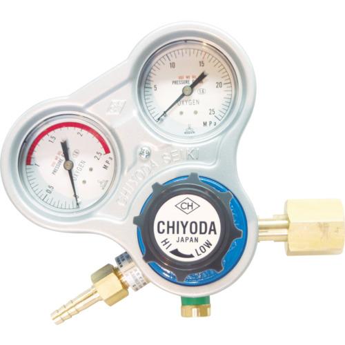 千代田精機 酸素用調整器 スタウト(関東式)乾式安全器内蔵型 キャスター式 SRO-A-E