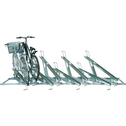 【直送】【代引不可】タクボ(田窪工業所) スライドキーパー 8台用高低ラック SRZ1N-08