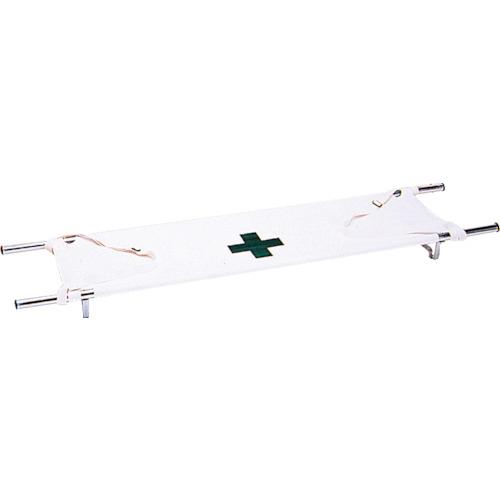 【直送】【代引不可】タニザワ 救急運搬用担架(折りたたみ式) 540X2190X155 ST-616-2