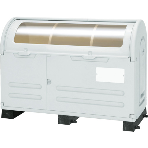 【直送】【代引不可】アロン化成 ステーションボックス 透明窓 800L 固定台付 STB-C-800B