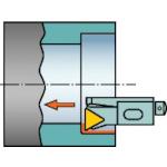 サンドビック コロターン107 ポジチップ用カートリッジ STFCR 12CA-16-M