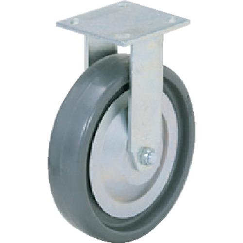 スガツネ工業 重量用キャスター 固定 φ150 ソリッドエラストマー車輪 SUGT-406R-PSE