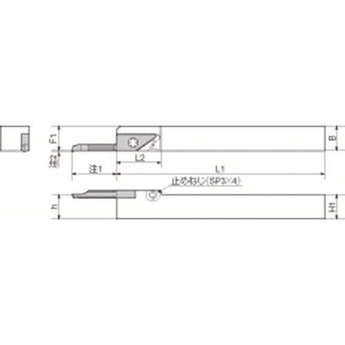 京セラ 内径加工用ホルダ SVNR2525M-12N