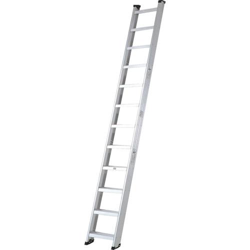 【直送】【代引不可】Pica(ピカ) 両面使用型 階段はしご(アルミ製) 3.99m SWJ-40