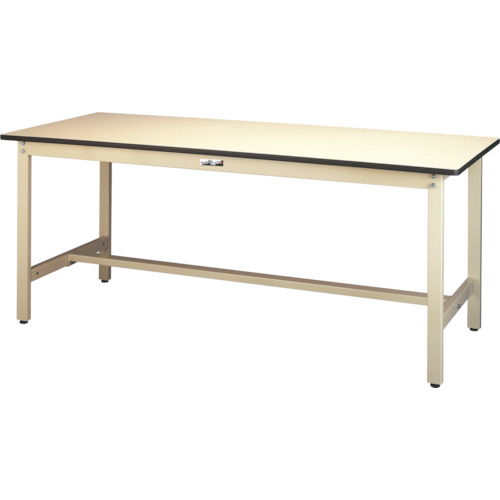 【直送】【代引不可】ヤマテック(山金工業) ワークテーブル300シリーズ リノリューム天板 W1800XD900 SWR-1890-II