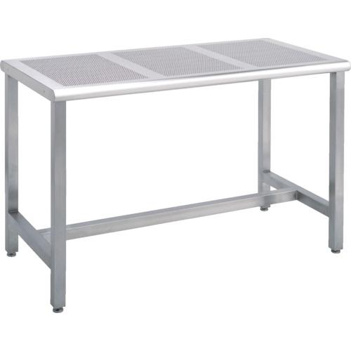 【直送】【代引不可】キャニオン ステンレスワークテーブル パンチングパネル 900X600X740 SWT5-609
