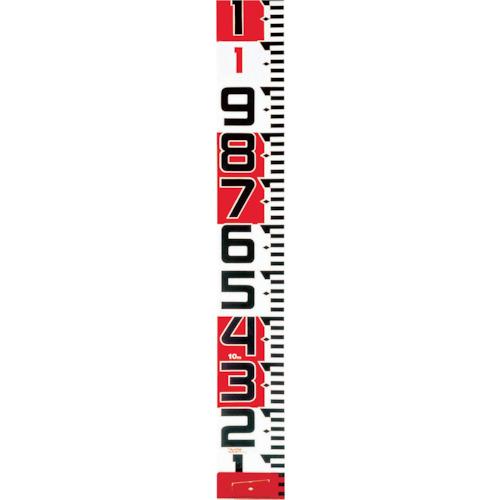 TJM(タジマ) シムロンロッド-150長さ 10m/裏面仕様 1mアカシロ/紙函 SYR-10TK