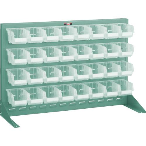 【破格値下げ】 片面卓上式 900X305X600 TRUSCO(トラスコ) 店 T-0632N-TM:工具屋のプロ パネルコンテナラック 緑-DIY・工具