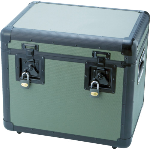 TRUSCO(トラスコ) 万能アルミ保管箱 オリーブドラブ 480X360X410 TAC-480OD