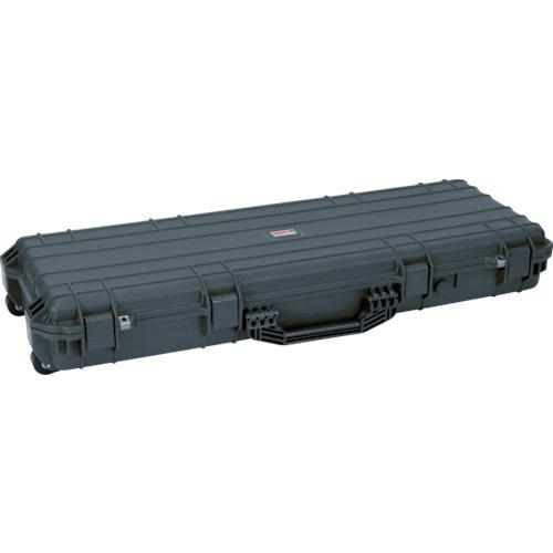 【直送】【代引不可】TRUSCO(トラスコ) プロテクターツールケース(ロングタイプ) 黒 TAK-975BK
