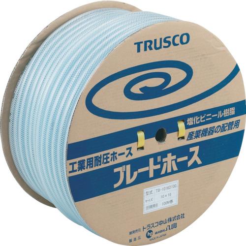 【直送】【代引不可】TRUSCO(トラスコ) ブレードホース 12X18mm 100m TB-1218D100