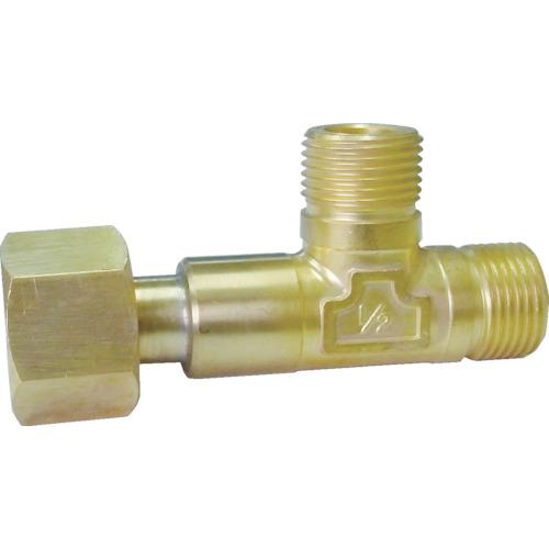 ヤマト産業 高圧継手 チーズ 真鍮 W22-14(右) TB230
