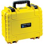 B&W プロテクタケース 3000 黄 フォームあり 4個 3000/Y/SI