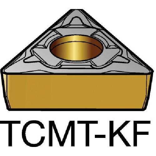 SANDVIK(サンドビック) コロターン107 旋削用ポジ・チップ 3005 COAT 10個 TCMT 16 T3 04-KF 3005