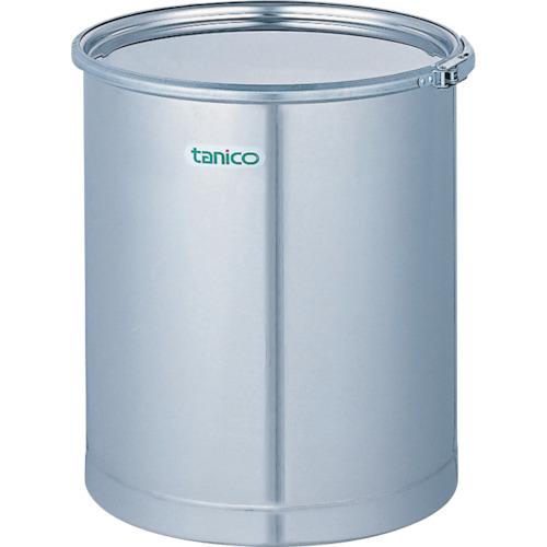 【直送】【代引不可】タニコー ステンレスドラム缶 レバーバンド 50L TC-S50DR4-BA