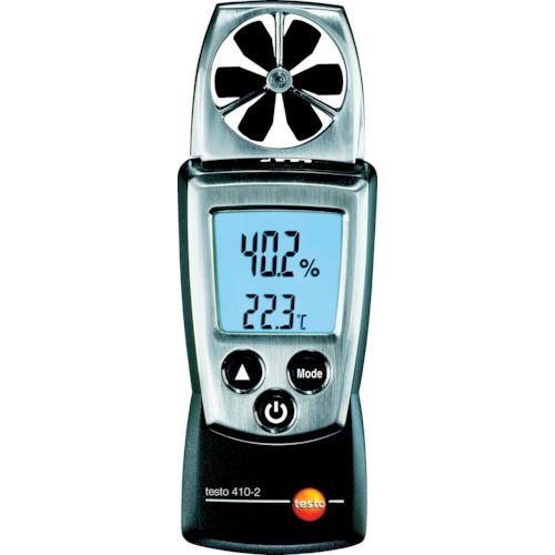 授与 testo 本物◆ テストー ポケットラインベーン式風速計 TESTO410-2温湿度計付 TESTO410-2