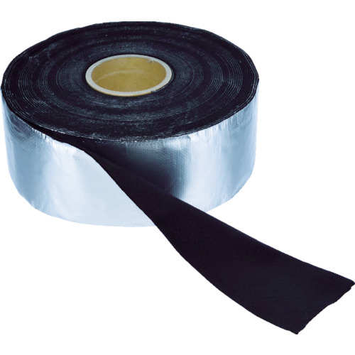 TRUSCO(トラスコ) アルミ箔耐炎フェルトテープ 厚み2mmX幅95mmX長さ19m TFA-21020