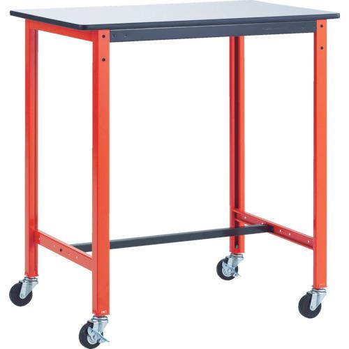 【直送】【代引不可】TRUSCO(トラスコ) 軽量作業用テーブル キャスター付 900X600X968 TFAE-0960C75