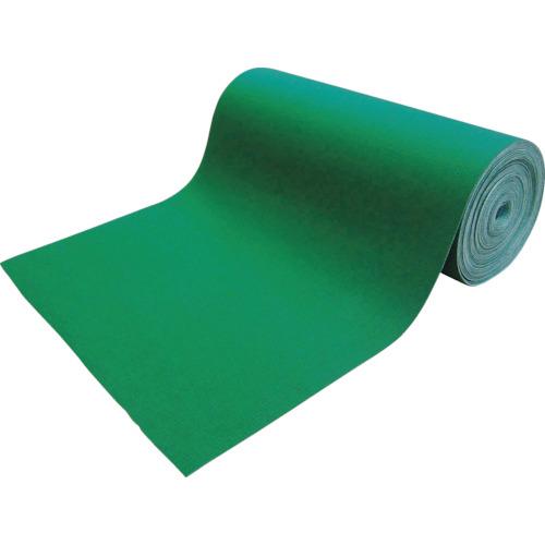 TRUSCO(トラスコ) 吸油・吸水ロールマット 緑 フィルム付 幅900mmx25m TFGN-F-925