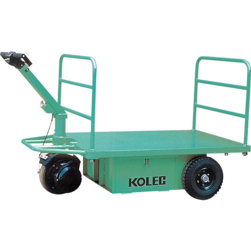 【直送】【代引不可】コレック(中西金属工業) ウォーキー式電動運搬台車 1000kg THP103
