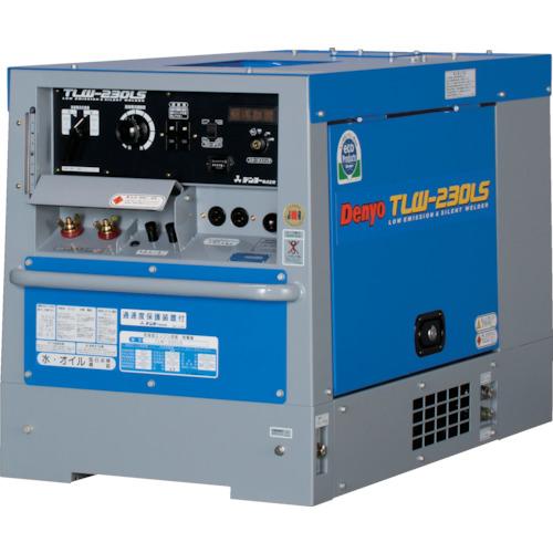 【直送】【代引不可】デンヨー 防音型ディーゼルエンジン溶接機 TLW-230LS