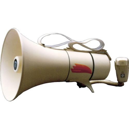 ノボル電機 ショルダータイプメガホン 13W ホイッスル音付(電池別売) TM-208