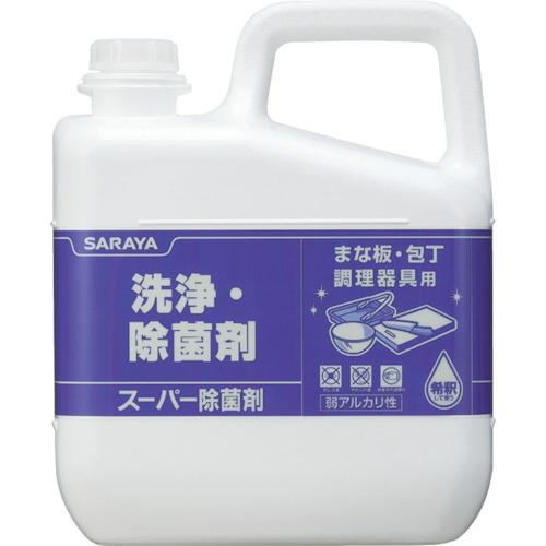 サラヤ 洗浄除菌剤 スーパー除菌剤 5kg 31828