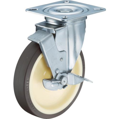 自在式 ストッパー付 ステンレス SUS304 金具 ハンマーキャスター 319S-UB200-BAR01 200mm Sシリーズオールステンレス ラジアルボールベアリング 商店 旋回式ウレタン車輪 上等
