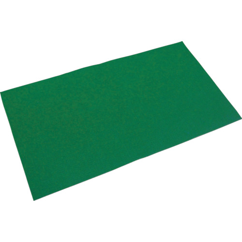 【直送】【代引不可】TRUSCO(トラスコ) オイルキャッチャーマット 緑 フィルム付 500X900 10枚入 TOCF-5090-10