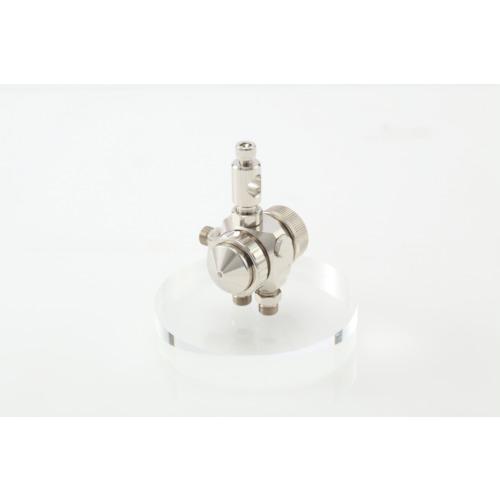 アネスト岩田 液体塗布用自動スプレーガン(小形 丸吹) ノズル口径0.5mm TOF-6RB-05L