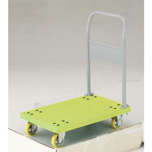 【直送】【代引不可】TRUSCO(トラスコ) 帯電防止性樹脂運搬車 グランカート 固定 718X468 TP-E702