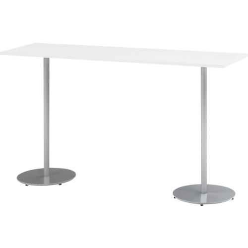 【直送】【代引不可】イトーキ ハイテーブル(角型) 1800X500X1000mm TRA-185HH-Z5W9
