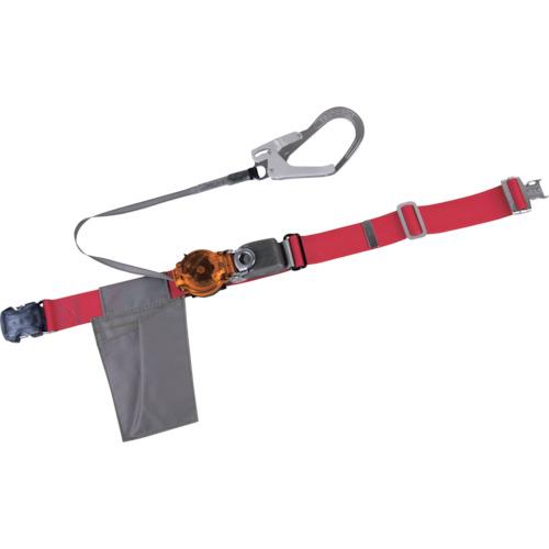 ツヨロン(藤井電工) なでしこ安全帯 OTバックル式 2WAYリトラ 赤色 S寸 TRL-OT93-R-OR-S-BP