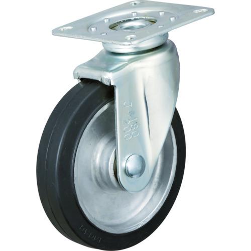 イノアック車輪 牽引台車用キャスター(静粛型) φ150 TRS-150AWJ