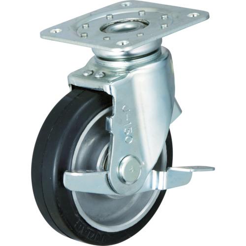 イノアック車輪 牽引台車用キャスター(静粛型) φ150 TRS-150AWJB