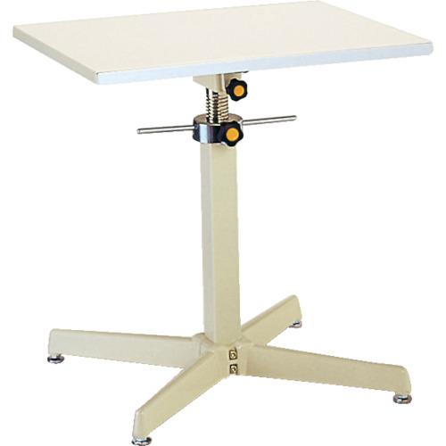 【直送】【代引不可】ユニオンスチール ローハイシステムテーブル ジャッキアップ式 600X450 TRS-600S