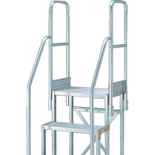 TRUSCO(トラスコ) 作業用踏台用手すり H1100 階段両手すり TSF-256・26 TSF-TE17-11H