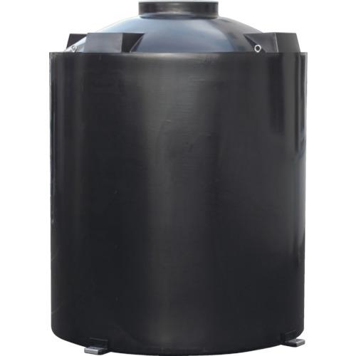 【直送】【代引不可】スイコー TU型密閉円筒型耐熱タンク 3000L TU-3000