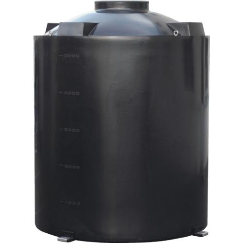 【直送】【代引不可】スイコー TU型密閉円筒型耐熱タンク 5000L TU-5000