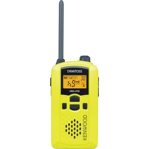 JVCケンウッド 特定小電力トランシーバー 交互通話 UBZ-LP20Y