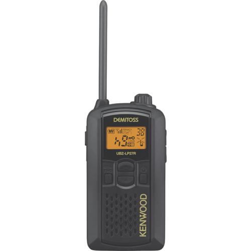 JVCケンウッド 特定小電力トランシーバー(交互通話) UBZ-LP27RB