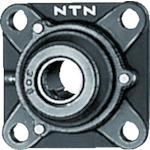 【直送】【代引不可】NTN G ベアリングユニット 軸径85mmX全長260mmX全高260mm UCFS317D1